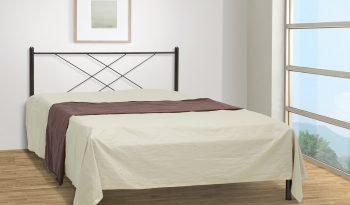 μεταλλικό κρεβάτι Καρέ